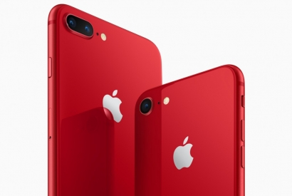 Apple presenta iPhone 8 e iPhone 8 Plus (PRODUCT)RED Special Edition